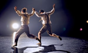 Two Completely Different Angles of the Same Fucking Thing, part of Barbarians by Hofesh Shechter