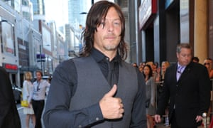 Norman Reedus at the Sky premiere.