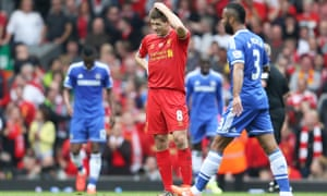 Gerrard's slip against Chelsea