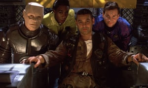 Charles and the cast of Red Dwarf.