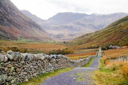 Lon Las Ogwen, Snowdonia
