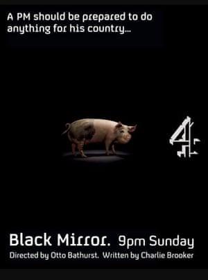 Black Mirror poster.