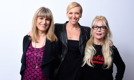 Miss You Already ... Director Catherine Hardwicke, actor Toni Collette and screenwriter Morwenna Banks.