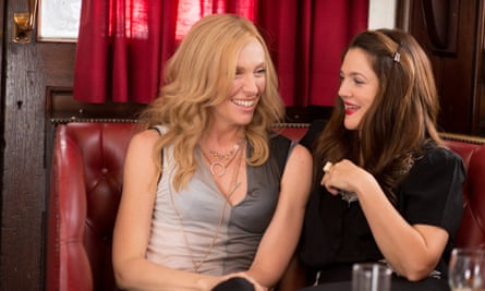 So-called grownups ... Toni Collette and Drew Barrymore in Miss You Already