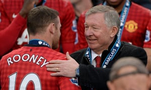 """""""I told them I did not think it fair that [Wayne] Rooney should earn twice what I made,"""" Sir Alex Ferguson says in his new book. """"It was simple. We just agreed that no player should be paid more than me."""""""