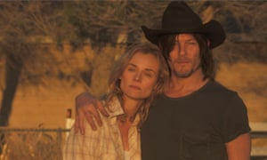 Diane Kruger and Norman Reedus in Sky