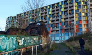 Park Hill is  a Grade II listed block of flats overlooking Sheffield city centre.