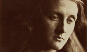 Detail of Julia Margaret Cameron's 1867 portrait of her niece, Julia Jackson – mother of Virginia Woolf