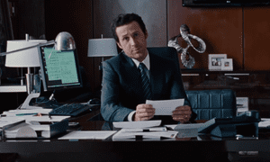 Half way there? ... Ryan Gosling aiming for Oscar success in The Big Short.