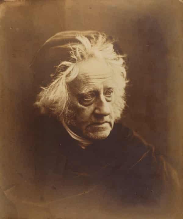 Julia Margaret Cameron's portrait of the astronomer Sir John Herschel, 1867.
