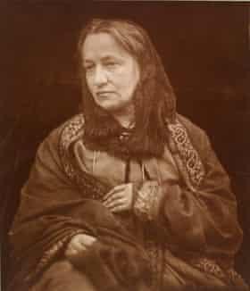 Portrait of Julia Margaret Cameron, by her son Henry Herschel Hay Cameron, c.1870.