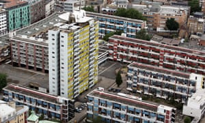 A housing estate in the City of London.