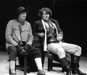Reece Dinsdale, right, in Wild Oats, the West Yorkshire Playhouse's opening production, 25 years ago.