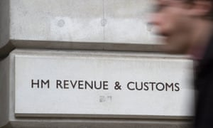 The HM Revenue and Customs offices in London, UK