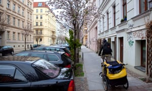 """""""We don't want a situation like in London"""" ... Berlin's fashionable Mitte district."""