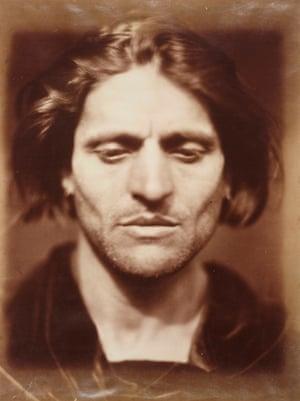 Iago, 1867, by Julia Margaret Cameron.
