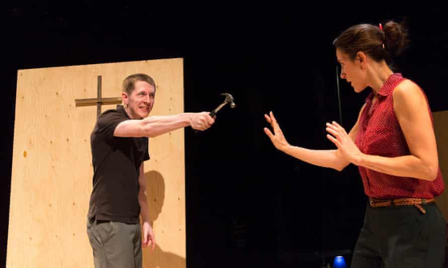 Marius von Mayenburg's play Martyr, with Daniel O'Keefe and Natalie Radmall-Quirke.