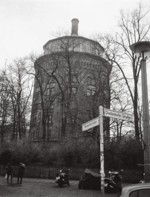 'The city's oldest water tower', Mitte, east Berlin.