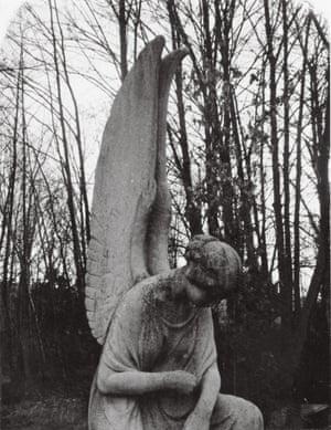 'Guardian angel, Dorotheenstadt Cemetery', east Berlin.