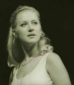 Helen Mirren in RSC's Troilus and Cressida in 1969