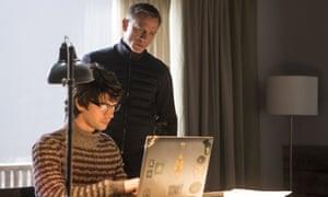 Daniel Craig and Ben Whishaw in Spectre.