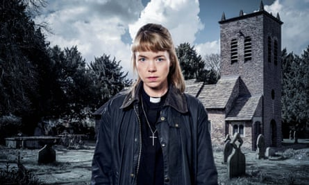 Anna Maxwell Martin as the Rev Merrily Watkins