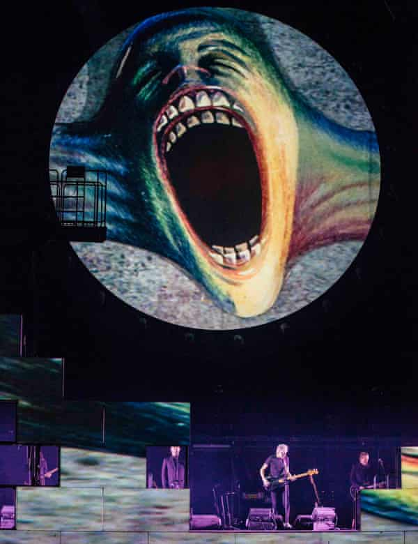 Roger Waters on tour in 2011.