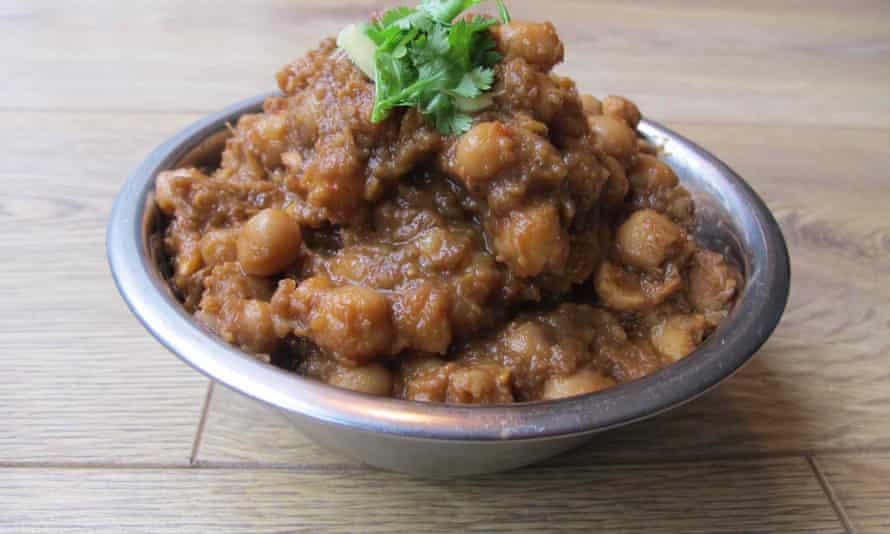 Maunika Gowardhan's chana masala.