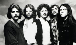 Blowdried and moustachioed … Eagles in their late 70s pomp.