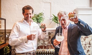 Hot fizz: Fever-Tree founders Tim Warrillow (left) and Charles Rolls.