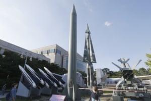 North Korea's scud-B missile