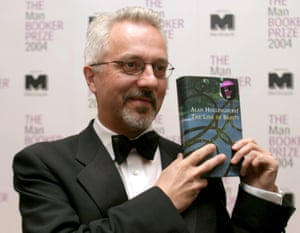 Alan Hollinghurst wins the Man Booker prize 2004 for The Line of Beauty.