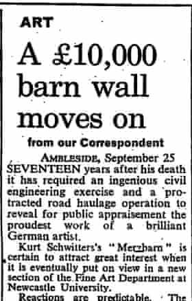 The Observer, 26 September 1965.