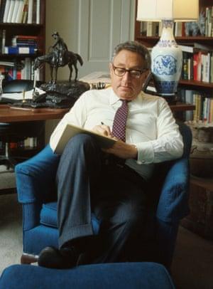 Henry Kissinger in Washington in 1975.