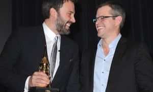 Ben Affleck and Matt Damon laughing together