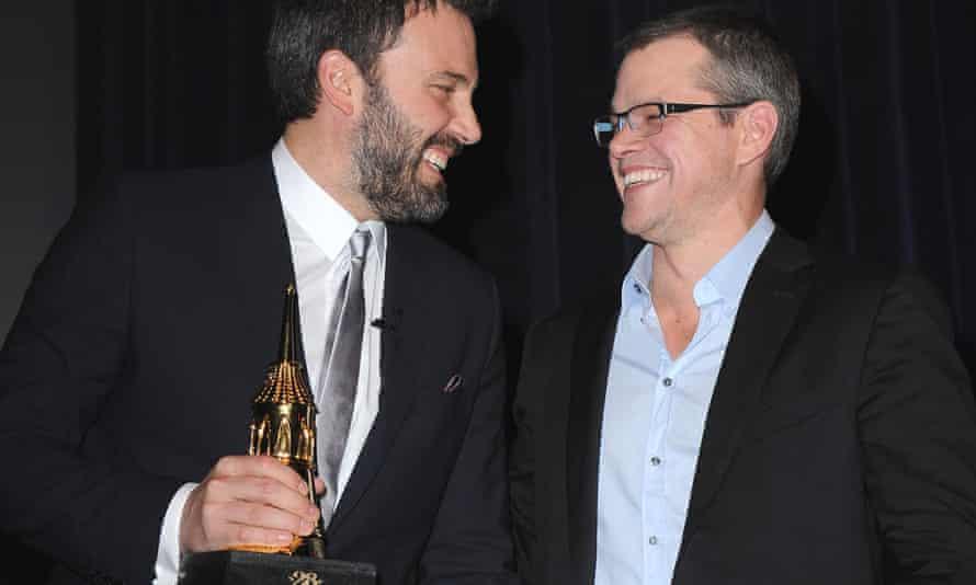 Ben Affleck and Matt Damon laughing together