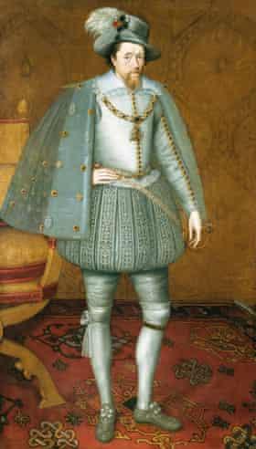 The Sutherland Portrait of James VI of Scotland.