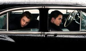 Lifeless … Dane DeHaan, left, and Robert Pattinson in Life.