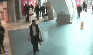 CCTV footage of Isa Ibrahim, who was found guilty of planning to blow up a shopping centre