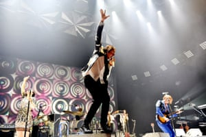 Win Butler and Arcade Fire.