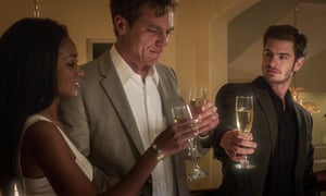 Toxic avenger … Michael Shannon, centre, with Andrew Garfield in 99 Homes.