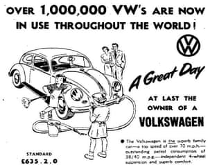 How Volkswagen relied on clever advertising to build its