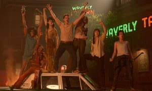 The riot club ... the central group of characters in Roland Emmerich's controversial Stonewall.
