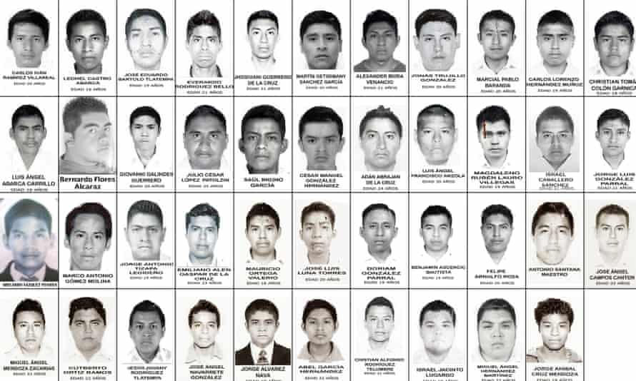 The 43 students who went missing