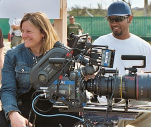 Ellen Kuras, cinematographer, on set