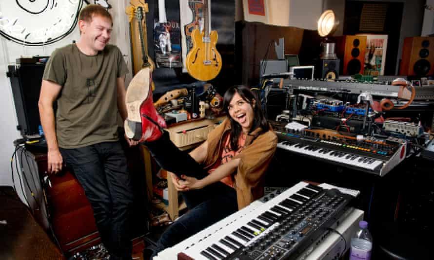 Dan Carey and Natasha Khan