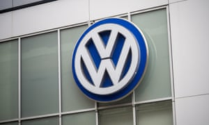 A VW store