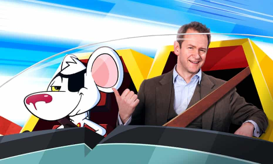 The next voice you hear… Alexander Armstrong as Danger Mouse.