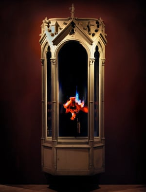 Auto-Immolation, 2010, from Mat Collishaw's New Art Gallery Walsall exhibition in 2015