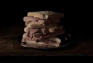 Last Meal on Death Row, Texas (Bernard Amos), 2011, from Mat Collishaw's New Art Gallery Walsall exhibition in 2015